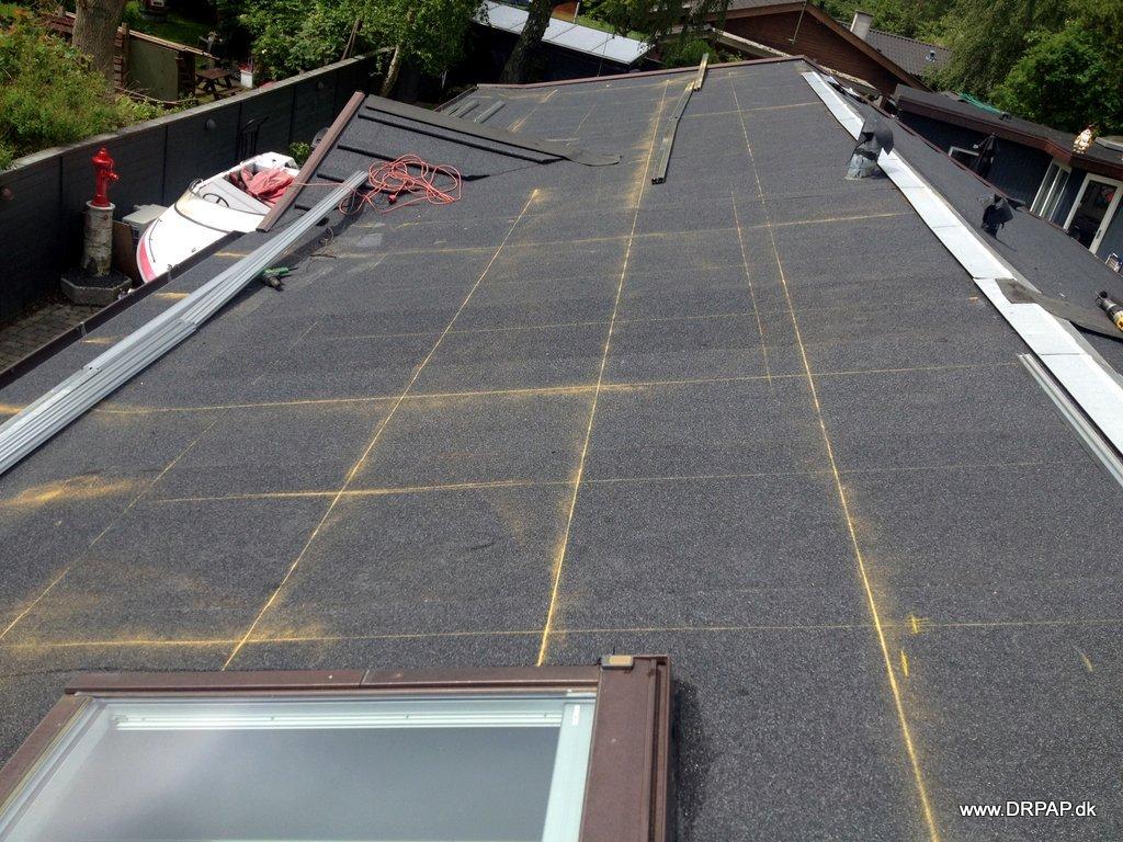 Opmåling forud for montering af solceller